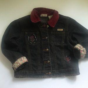 Levis 3T Dark Denim Jacket
